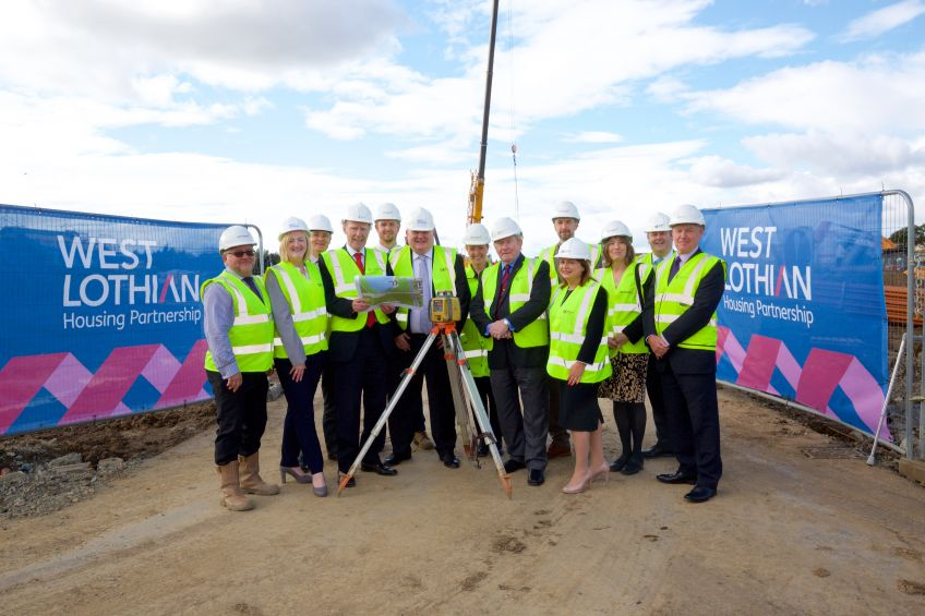 Work starts on new homes at Winchburgh