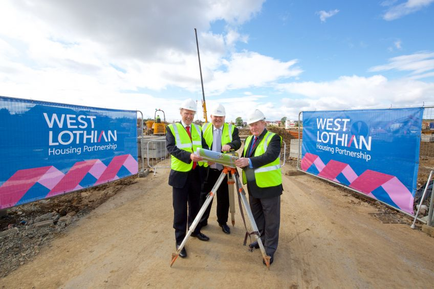 work starts on new wlhp homes at winchburgh