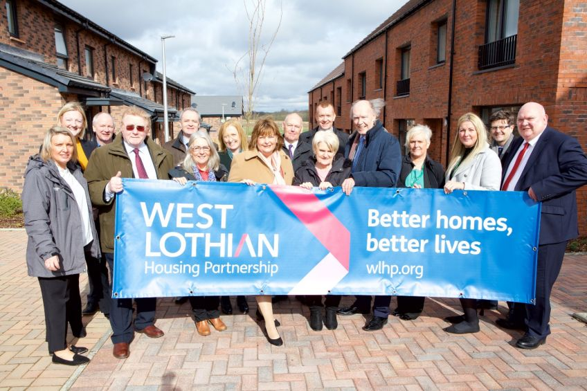 New WLHP homes in Winchburgh
