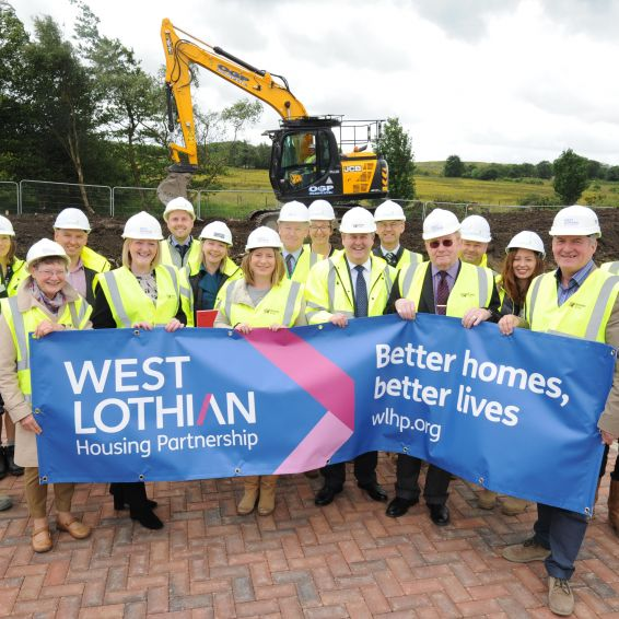 WLHP is building new homes at Whitburn