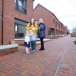 WLHP has opened it's first new homes in Winchburgh village